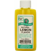 Chef-O-Van Natural Flavoring Extracts, Natural Lemon Flavor, 2 Ounce