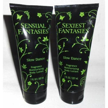 Sensual Fantasies & Sexiest Fantasies Slow Dance Fragrance Body Lotion 7 Oz Each
