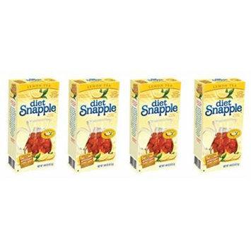 Diet Snapple Lemon Tea Mix (Pitcher Pack) 4 Pack