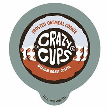 Crazy Cups Frosted Oatmeal Cookie Flavored Coffee Single Serve Cups (88 Count)