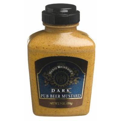 Henry Weinhard's Pub Beer Mustard 9 Oz (Pack of 3)