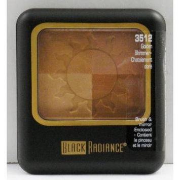 Black Radiance Mosaic Bronzer - Golden Shimmer - 3512