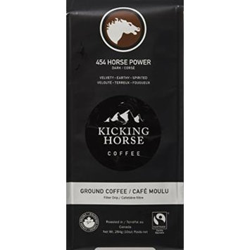 Kicking Horse Coffee, 454 Horse Power, Ground Coffee, 10 Ounce