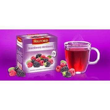 Milford Blackberry Rasberry Tea - Pack of 2
