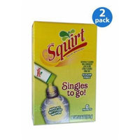 SQUIRT Thirst Quencher Soft Drink Mix 6 Sticks In Each Box (2 Pack)... iwgl