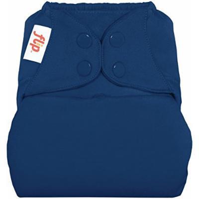 flip Cloth Diaper Cover - Stellar (Deep Blue) - One Size - Hook & Loop