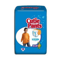 Cuties Refastenable Training Pants- Boys (Case) (3T to 4T (32-40 lbs) - 4 Bags of 23)