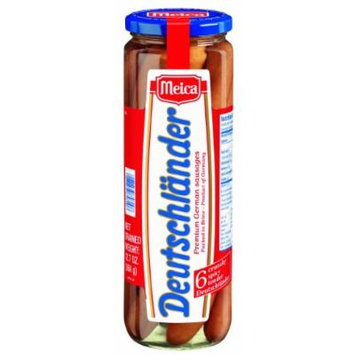 Meica Deutschlander German Sausages, Premium, 12.7 Ounce