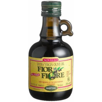 Fior Fiore Extra Virgin Unfiltered Olive Oil Fior Fiore, 8.5-Ounce Bottles (Pack of 4)