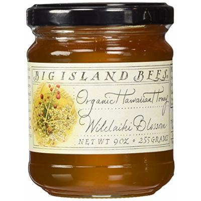 Organic Wilelaiki Blossom Raw Honey by Big Island Bees (9 ounce)