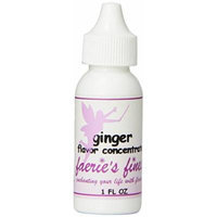 Faeries Finest Flavor Drops, Ginger, 1.0 Ounce