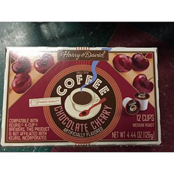 Harry & David, Chocolate Cherry Single Serve K-cups, 12 Count
