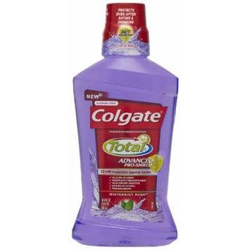 Colgate Total Advanced Pro-Shield Mouthwash, Peppermint, 16.9 Fluid Ounce