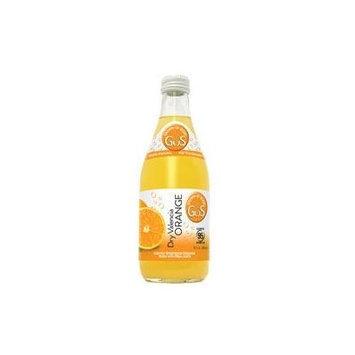 GUS Soda Dry Valencia Orange 12 Oz (12 Pack)