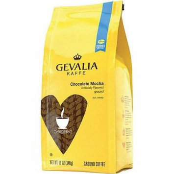 Gevalia Kaffe Chocolate Mocha Ground Coffee12 oz (Pack of 2)