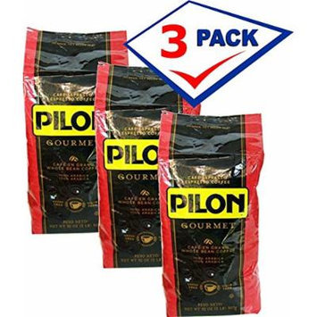 Pilon Whole Bean Coffee 2lb bag Pack of 3