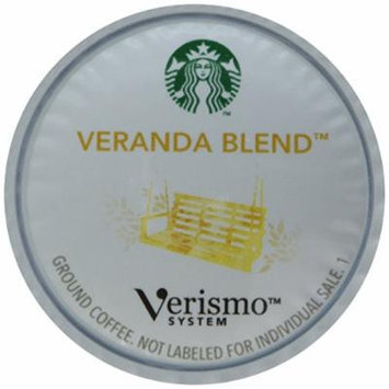 Starbucks® VerismoTM Veranda Blend® Brewed Coffee 72 Pods