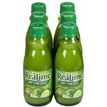 ReaLemon Realemon Lime Juice - 8 oz - 6 pk