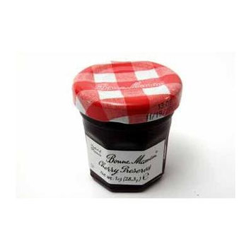 Bonne Maman Cherry Preserves - Jar (60 Pieces) - Bonne Maman Cherry Preserves - Jar. 1 Oz Glass Jar.