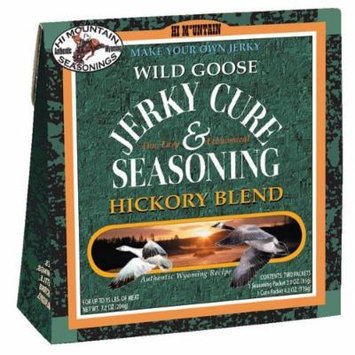 Hi Mountain Jerky Hickory Wild Goose Jerky Blend, 7.2-Ounce Boxes (Pack of 6)
