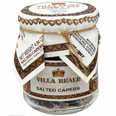 Villa Reale Italian Salted Capers, 4.94 Ounce