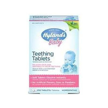 Hyland's Homeopathic Baby Teething Tablets 250 Tablets (Pack of 2)
