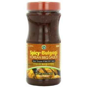 J1 Korean BBQ Sauce, Spicy Bulgogi, 34.27 Ounce
