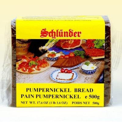 Schlunder German Pumpernickel Bread 500g (2-pack)