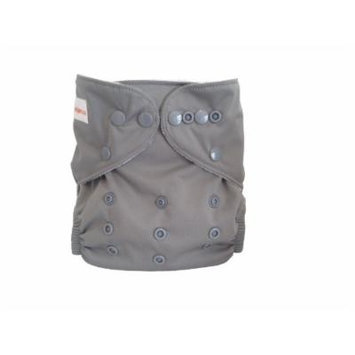 Charcoal Cloth Diapers - Solids (Grey)