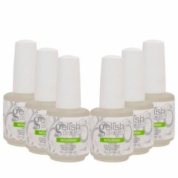 6 Harmony Gelish Nourish Nail Cuticle Hydrating Natural Oil Treatment .5 oz bottle