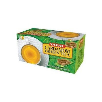 Tapal Cardamom Green Tea - 30 Enveloped Tea Bags (Pack of 3)