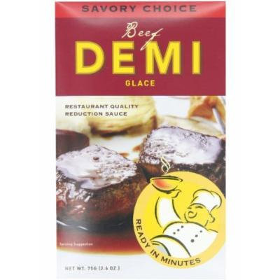Savory Choice Beef Demi Glace Reduction Sauce Packet 75gr (pack of 3)
