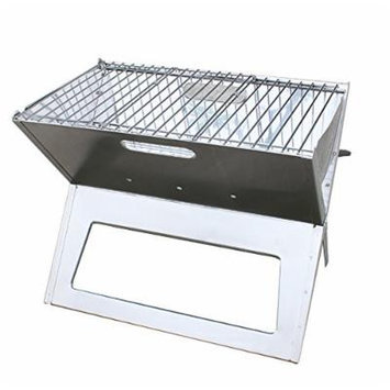 AGPtek Stainless Steel Portable Folding Charcoal BBQ Grill