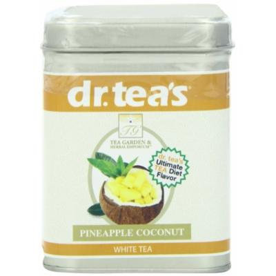 dr. tea's Pineapple Coconut White, 1.4-Ounce Tins (Pack of 3)
