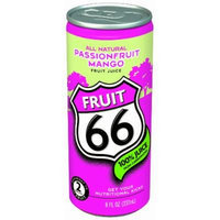 Fruit 66 Non Sparkling Passionfruit Mango, 8-Ounce Cans (Pack of 24)