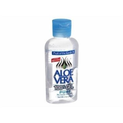 Fruit of the Earth 100% Aloe Vera Gel ( 2 oz ) - Pack of 36