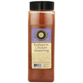 Spice Appeal Rotisserie Chicken Seasoning, 24-Ounce Jar