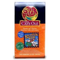 Cafe Ole GROUND DECAF Coffee Variety Pack Tastes of San Antonio, Houston & WHOLE BEAN Austin 12 Oz (Pack of 3)