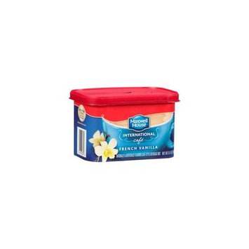 Maxwell House International Cafe French Vanilla Cafe Beverage Mix, 8.4 oz(Pack of 4)