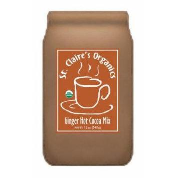 St. Claire's Organics® Ginger Hot Cocoa Mix, 12 oz Bag
