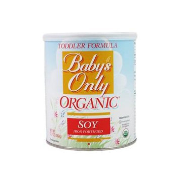 Nature's One: Baby's Only Organic Soy Iron Fortified Toddler Formula (5 X 12.7 Oz)