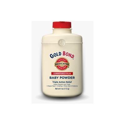 Special Pack of 5 GOLD BOND BABY MED POWDER CORN 4 oz