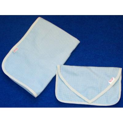 NuAngel Clutch and Go Changing Pad Set (Blue Gingham)
