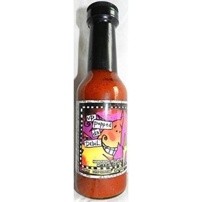 Habenero Hot Sauce, From Gullah Gourmet, 5 fl oz size