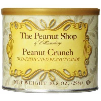 The Peanut Shop of Williamsburg Crunch, Peanut, 10.5 Ounce