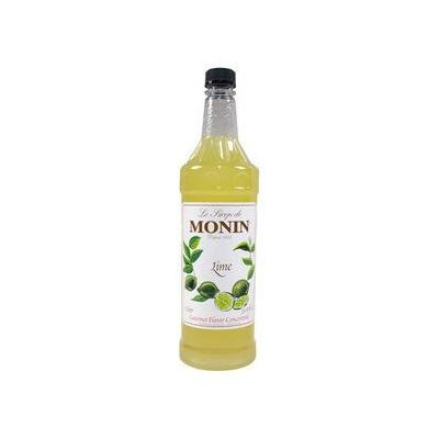 Monin Flavored Syrup, Lime, 33.8-Ounce Plastic Bottle (1 liter)