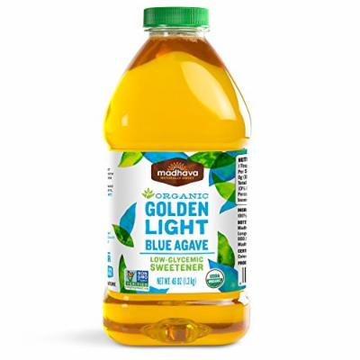 Madhava Organic Agave Nectar, Light, 46 Ounce (Pack of 2)