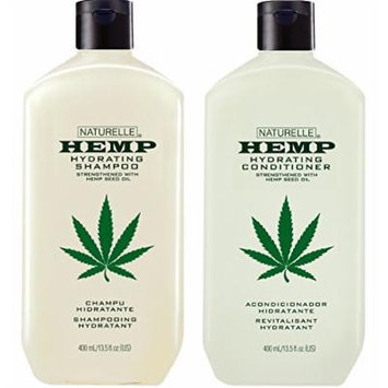 Hemp Hydrating Shampoo and Hydrating Conditioner 13.5 oz Two Pack