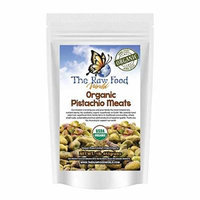 Organic Raw Pistachio Meats, 16oz