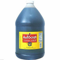 4 PACK- AUTOCRAT COFFEE SYRUP 128 FL OZ (3.79L)